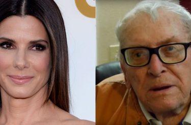 Sandra Bullock doa R$ 15 mil para senhor de 86 anos que passava fome e não tinha onde morar