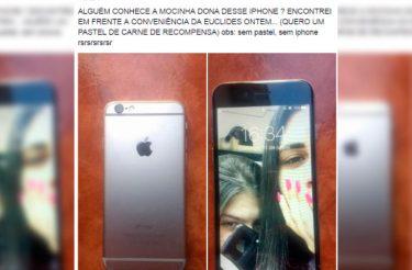 Jovem encontra Iphone, mobiliza a internet pra achar a dona e pede um pastel de carne como recompensa!
