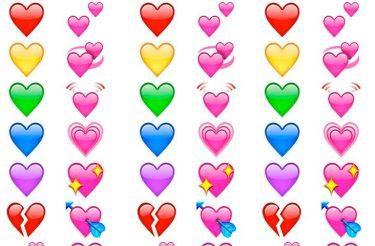 Você vai ficar de boca aberta com o significado dos emojis de coração! :o
