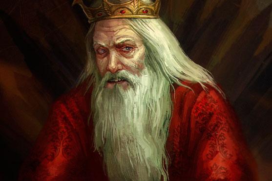 """<span style=""""color: #000000;"""">O personagem Aerys II, de Game of Thrones, apresentava comportamento psicótico com mania de perseguição</span>"""