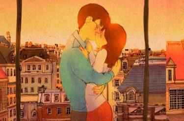 Ilustradora cria serie de desenhos para mostrar que o amor de um casal está nas pequenas coisas