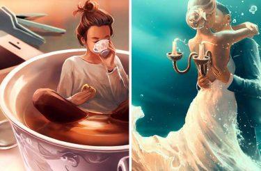 27 ilustrações impressionantes e poderosas que captam nossos sentimentos com perfeição