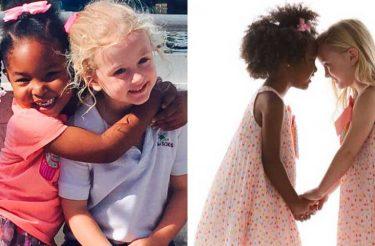 Essas garotinhas de 4 anos se convenceram de que são gêmeas e o motivo é fofo, entenda
