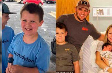 Garoto de nove anos fatura $ 6.000 em apenas DUAS HORAS com uma barraca de limonada para ajudar seu irmão doente