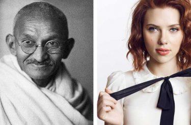 Se você tem essas 17 características, sua personalidade é a mesma do Mahatma Gandhi e Scarlett Johannson