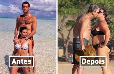Ex-007 e esposa comemoram 25 anos juntos e suas fotos ao longo dos anos são a prova do amor eterno!
