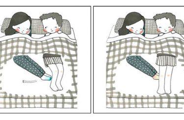 Artista ilustra as pequenas coisas de um relacionamento que tornam a vida a dois mais calorosa