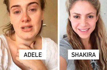 20 Celebridades SEM maquiagem mostram que elas são gente como a gente!