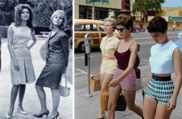 Essas 20 fotos mostram que nossas avós se vestiam melhor