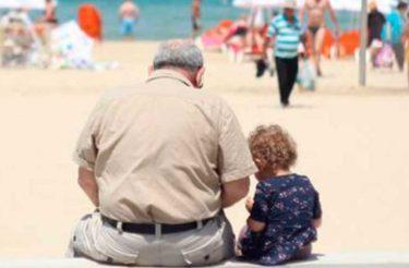 Meu pai decidiu ir embora, mas meu avô ficou até o fim de seus dias