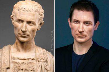 Aqui está como Júlio César e outras Figuras Históricas se pareceriam nos dias de hoje (30 fotos)
